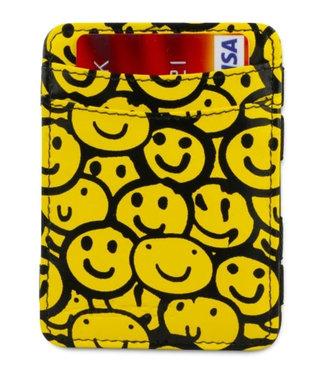 Hunterson RFID Smiley Print Magic Wallet