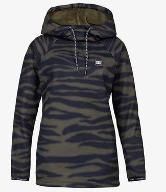 DC Snow Salem Zebra Olive Night Womens Snowboard Fleece