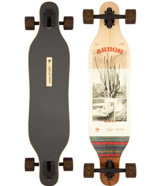 """Arbor 37"""" Photo Axis Performance Complete Longboard"""