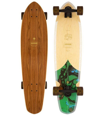 """Arbor 35"""" Groundswell Mission Performance Complete Longboard"""