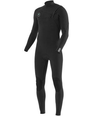Vissla 4/3 mm 7 Seas Chest Zip Black Wetsuit