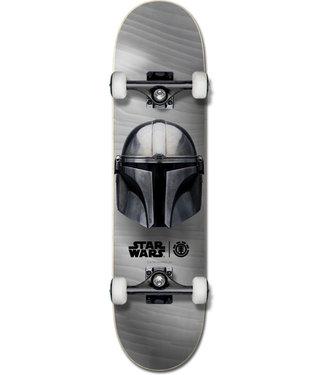 "Element X Star Wars 8.0"" Mandalorian Beskar Complete Skateboard"