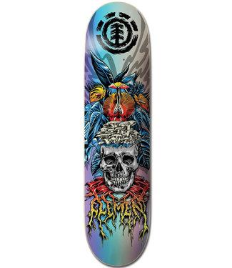 """Element 8.25"""" Lamour Skull Skateboard Deck"""