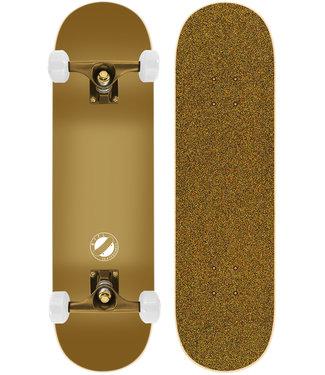 "BTFL 8.125"" Gold Edition Skateboard Complete"