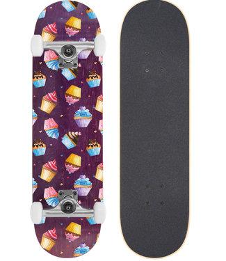 "BTFL 8.125"" Cupcakes Skateboard Complete"