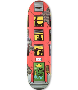 "Pizza Skateboards 8.375"" Neighbors Skateboard Deck"
