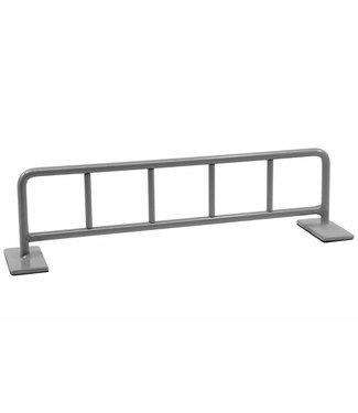 """Teak Tuning 10"""" Bike Rack Style Fingerboard Rail Grey Mist Steel"""