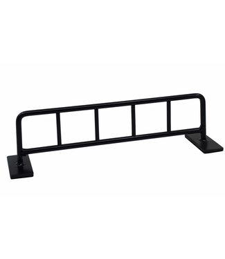 "Teak Tuning 10"" Bike Rack Style Fingerboard Rail Black Steel"