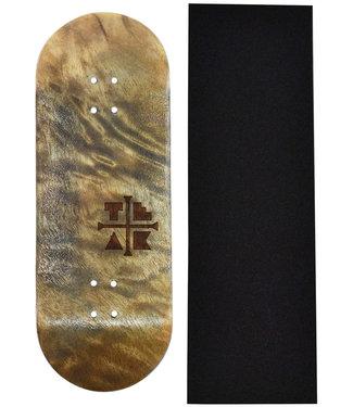 Teak Tuning 32mm Profilic The Graham Cracker Wooden Fingerboard Deck