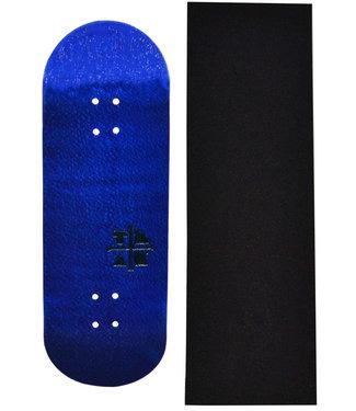 Teak Tuning 32mm Profilic Blue Yeti Wooden Fingerboard Deck