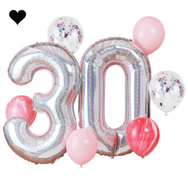30 jaar ballonnenset - Ginger Ray-1
