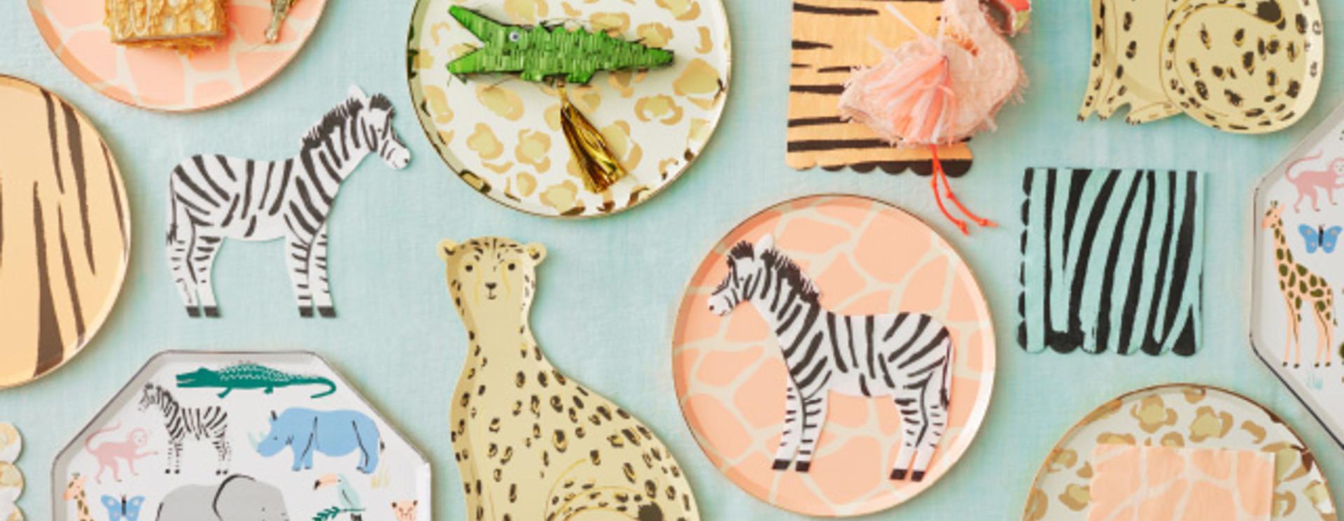 Safari  verjaardag versiering