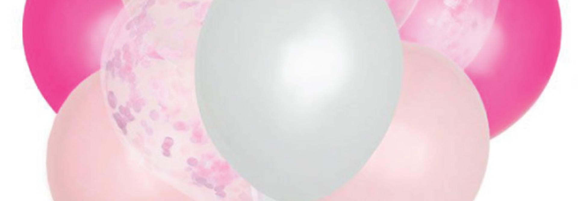 Ballonnenmix roze (10st)