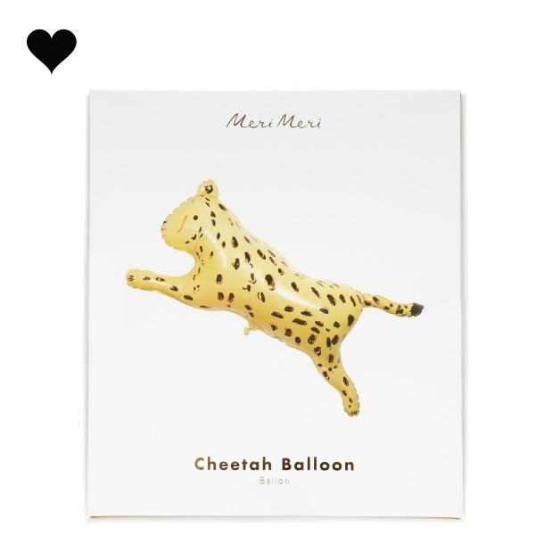 Folieballon Cheetah Safari Animals - Meri Meri-3