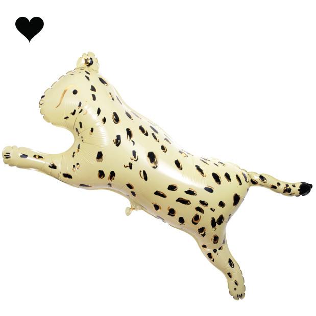 Folieballon Cheetah Safari Animals - Meri Meri-1