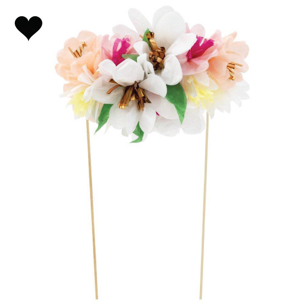 Taarttopper Flower Bouquet - Meri Meri-3