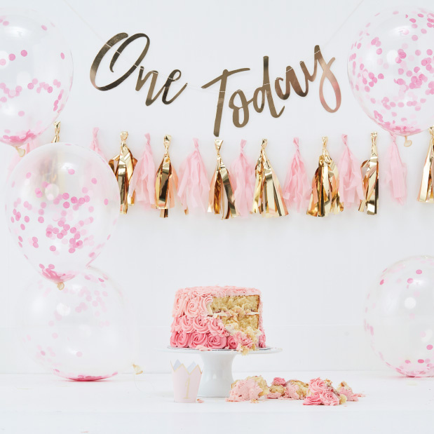 Cake smash kit roze  - Ginger Ray-2