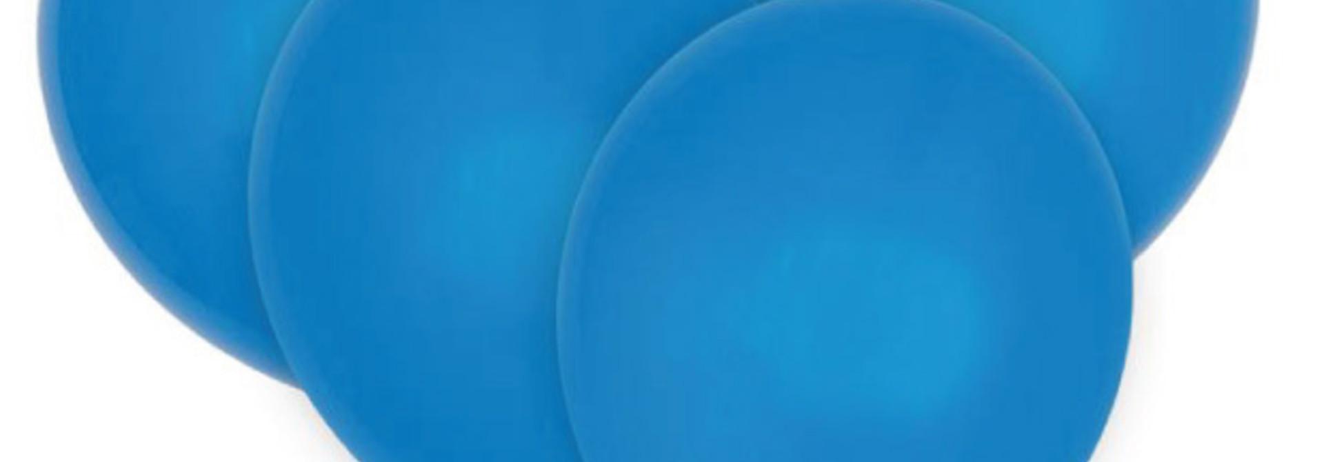 Ballonnen blauw (10 st)