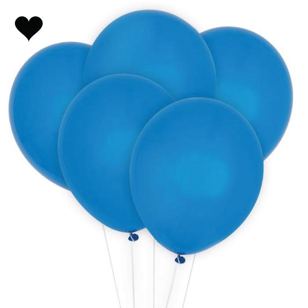 Ballonnen blauw (10 st)-1