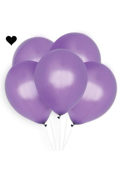 Ballonnen paars (10 st)