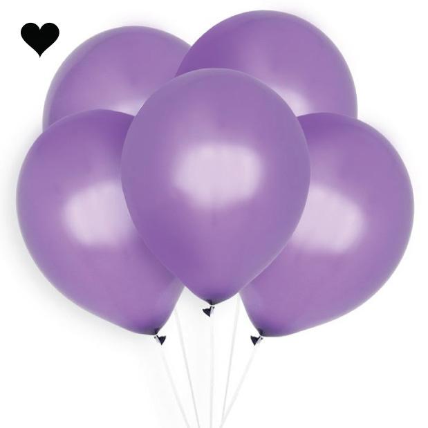 Ballonnen paars (10 st)-1