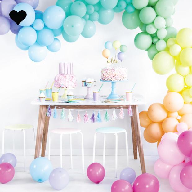 Ballonnen fuchsia (10 st)-2