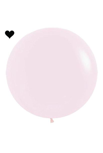 Ballon Pastel Mat Roze (60cm)