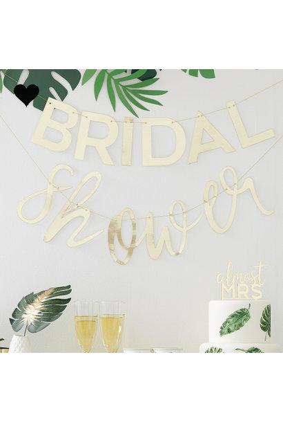 Slinger Bridal Shower Botanical Hen Ginger Ray