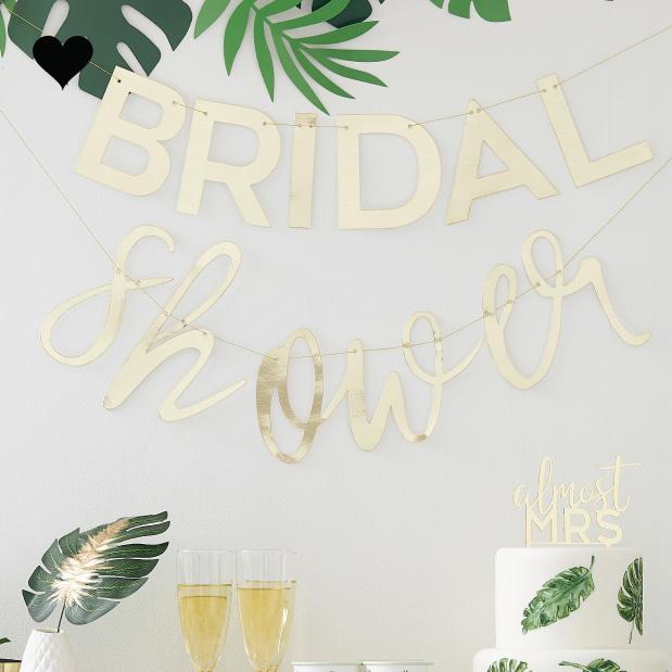 Slinger Bridal Shower Botanical Hen Ginger Ray-1