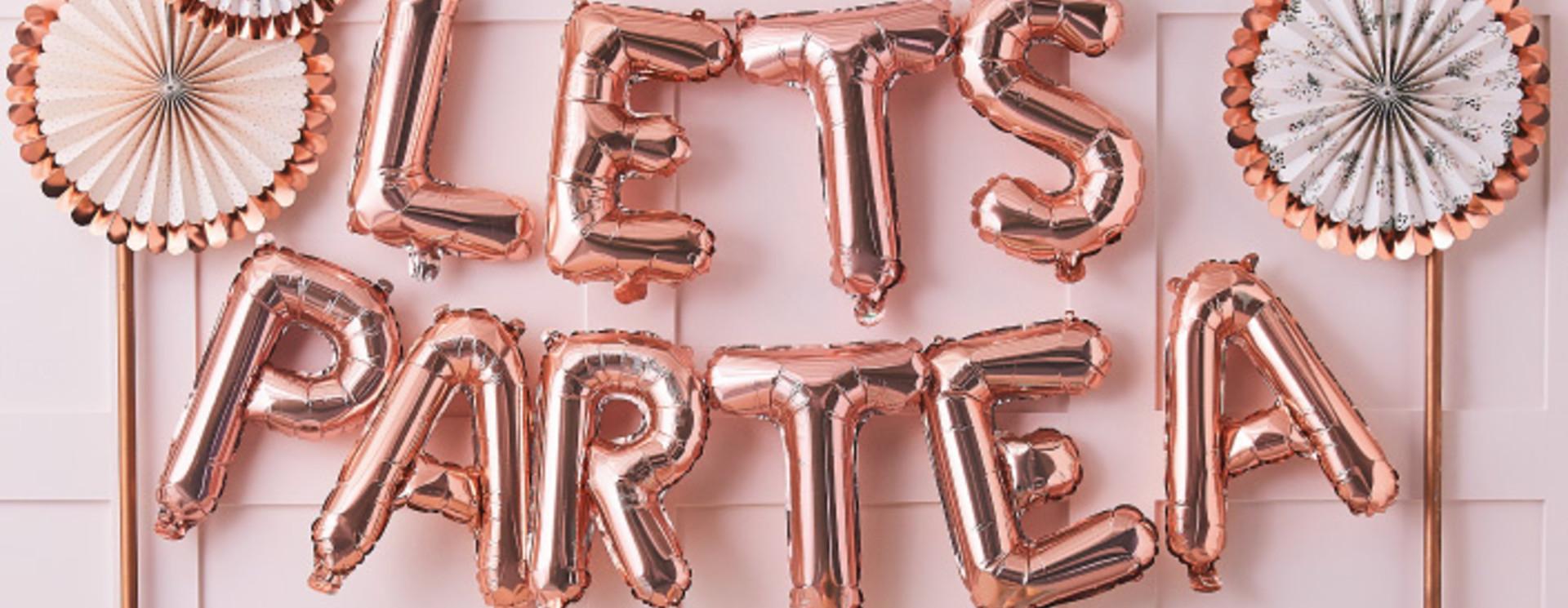 Letterballonnen