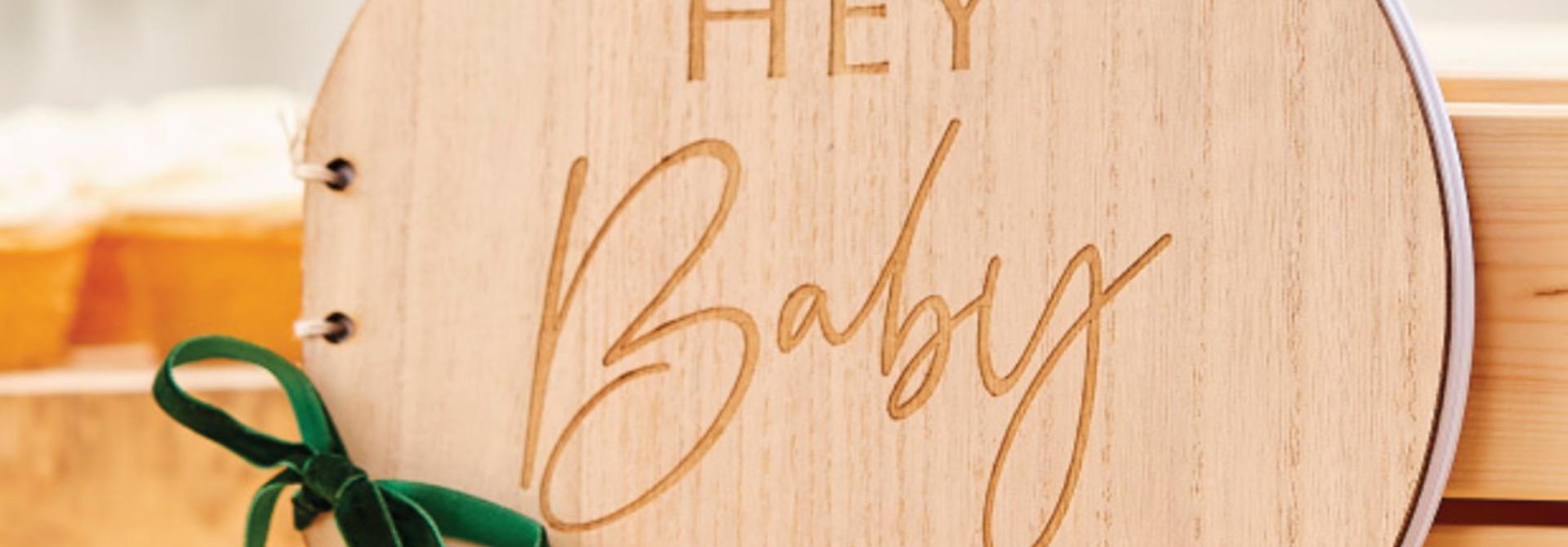 Gastenboek Botanical Baby Ginger Ray