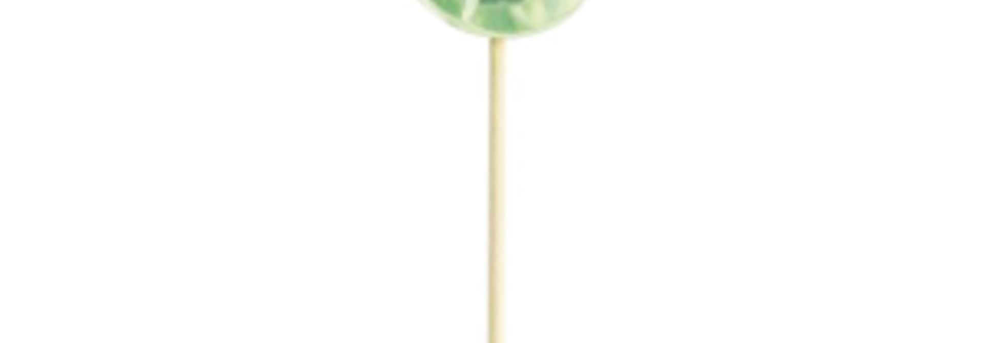 Miss Etoile cupcake toppers diamant groen (16st)