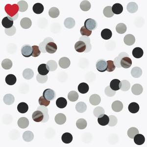 Confetti zwart glitter-1