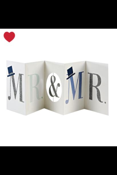 Meri Meri kaart mr & mr banner