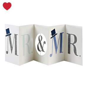 Meri Meri kaart mr & mr banner-1