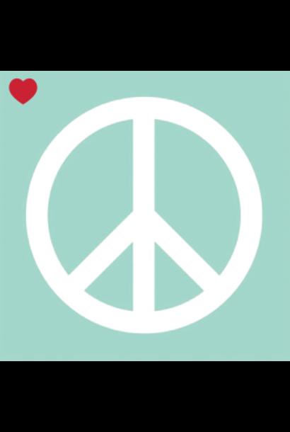 Papieren servetten mint peace