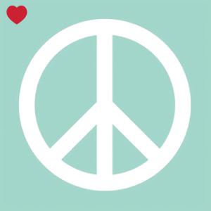 Papieren servetten mint peace-1