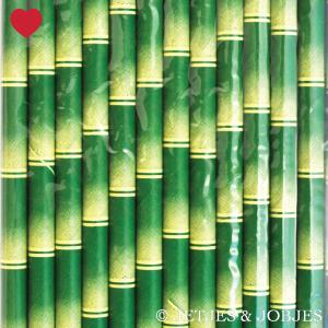 Papieren rietjes bamboe-2