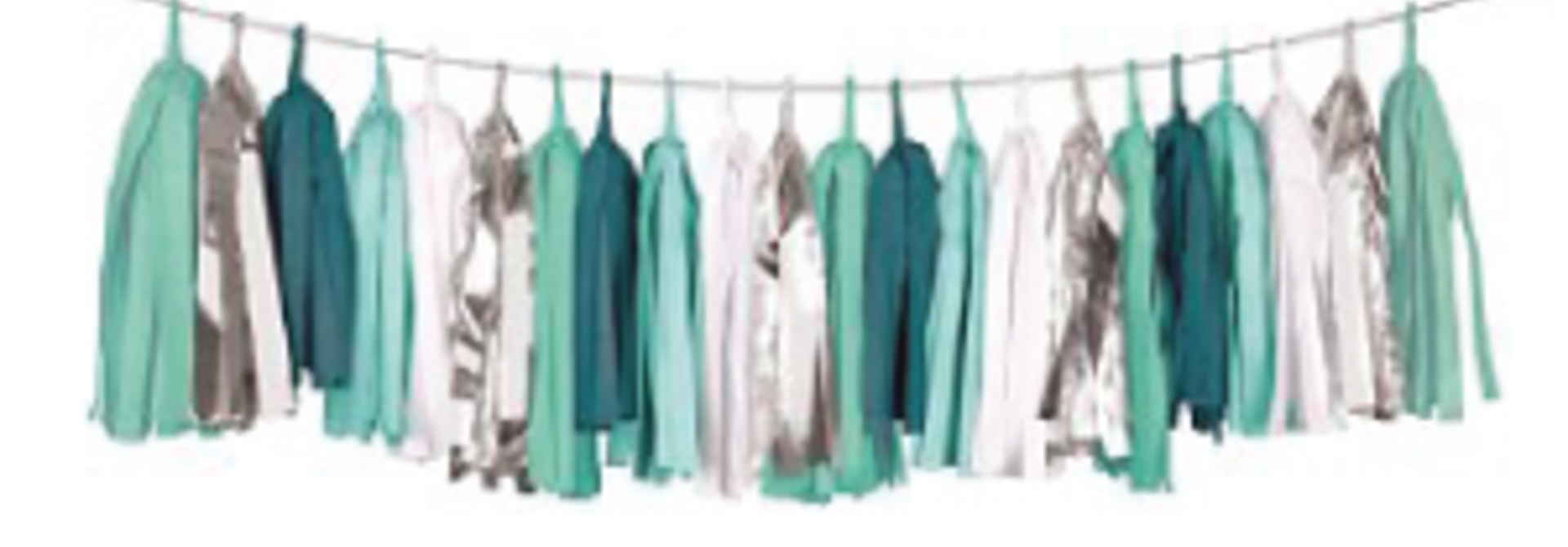 Tassel Garland Mint Ready To Party (4M) Delight Department
