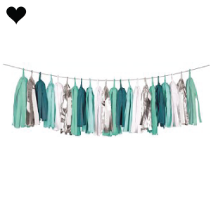 Tassel Garland Mint Ready To Party (4M) Delight Department-1