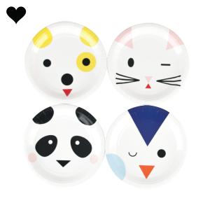 Gebaksbordjes cute animals (8st) My Little Day-1