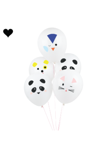 Ballonnen cute animals (5st) My Little Day