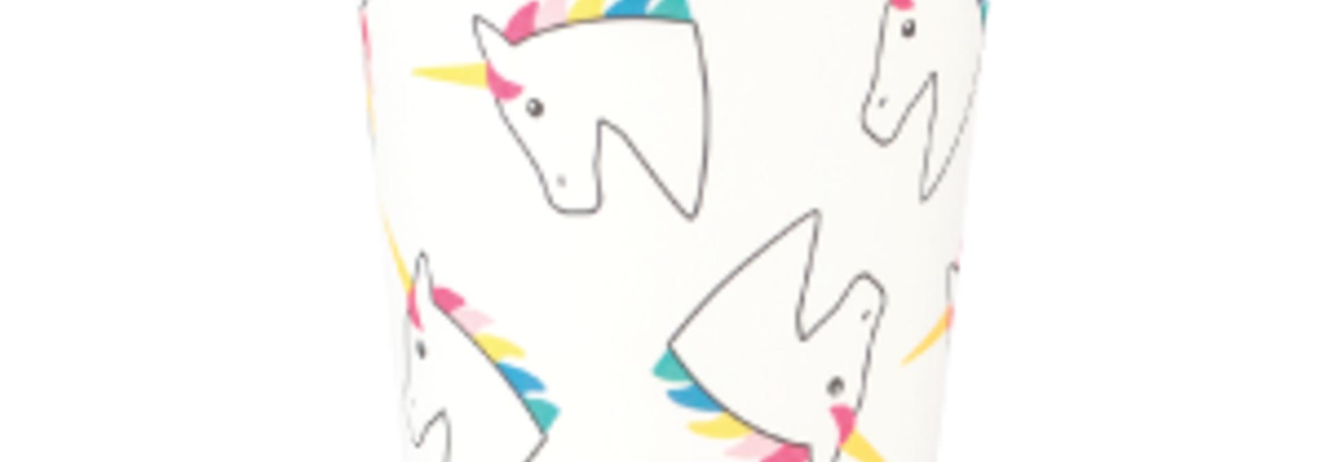 Unicorn bekers (8 st)