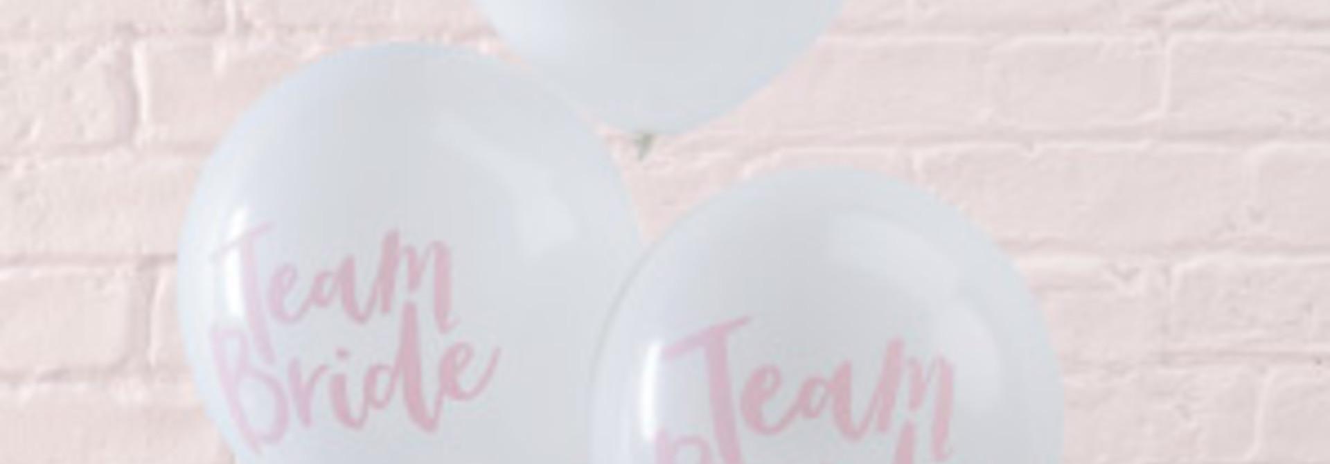 Team bride ballonnen (10 st)