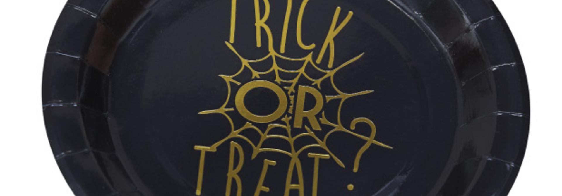 Trick or treat bordjes (6 st)