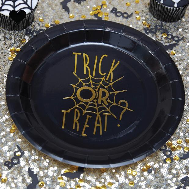 Trick or treat bordjes (6 st)-2