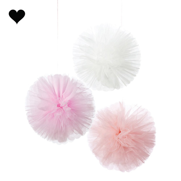 Tule pompoms Talking Tables (3st)-1