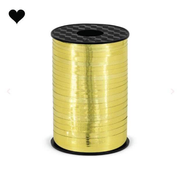 Ballonlint goud 5 mm (225 m)-1