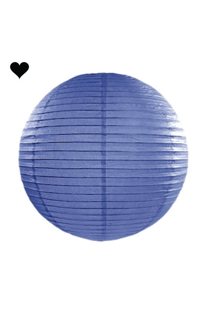 Lampion donkerblauw