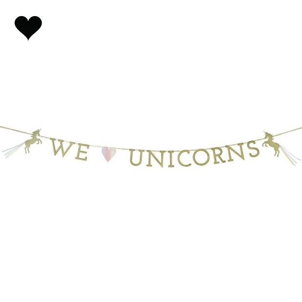 We heart unicorns slinger (3 m)- Talking Tables-1
